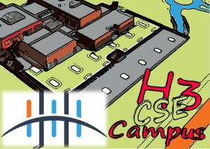 Le site du CSE de H3 Campus